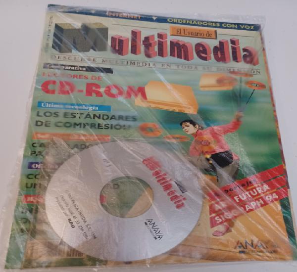 Revista informática pc el usuario multimedia n° 1 anaya