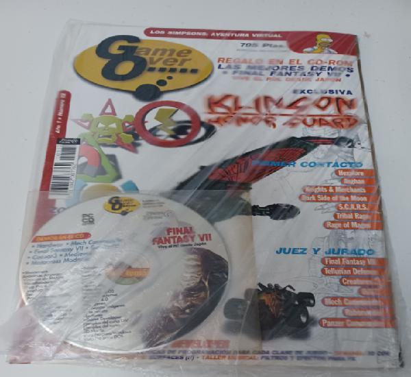 Revista informática pc game over n° 12 + cd videojuego