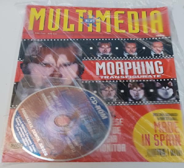 Revista informática pc multimedia news n° 4 globus año