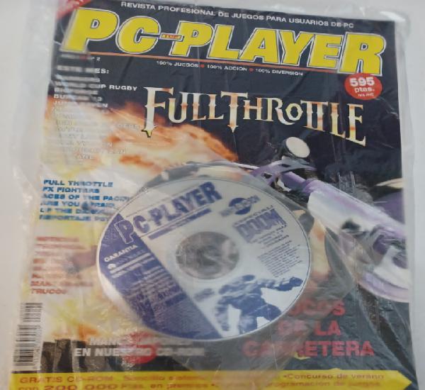 Revista informática pc top player n° 2 + cd videojuego