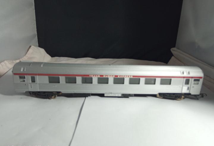 Vagón pasajeros de la sncf escala ho de lima