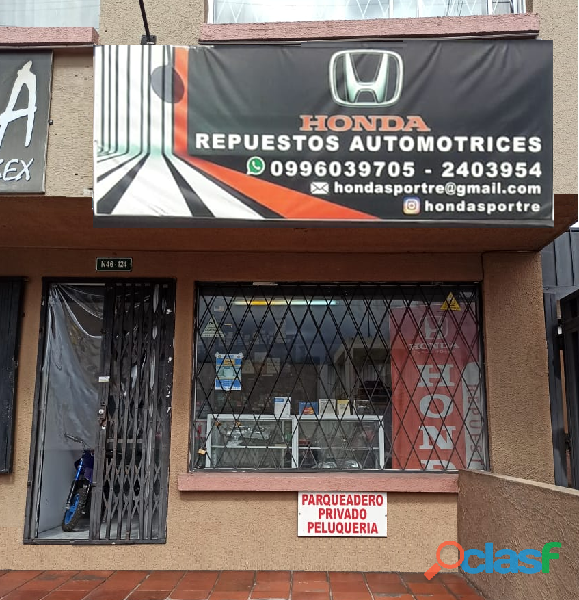 Honda Sport Repuesto Automotriz