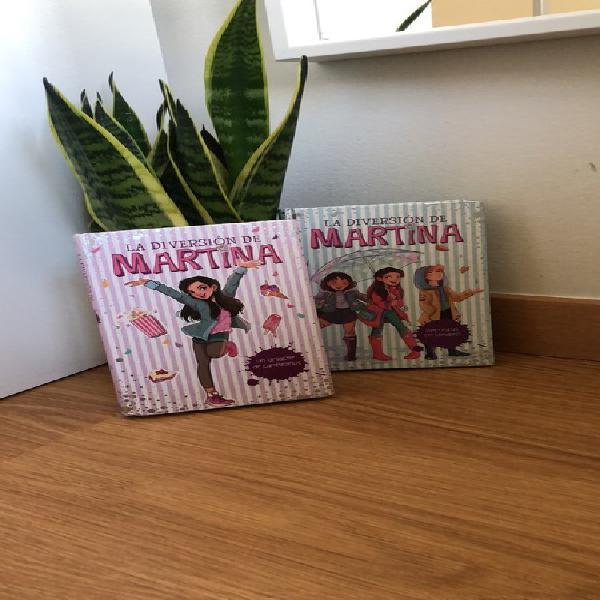 2 libros, la diversión de martina
