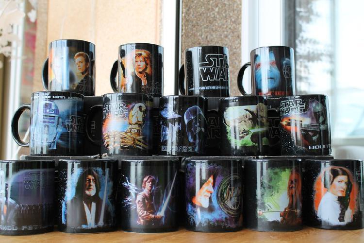 Coleccion de tazas nuevas de star wars 4€ cada una