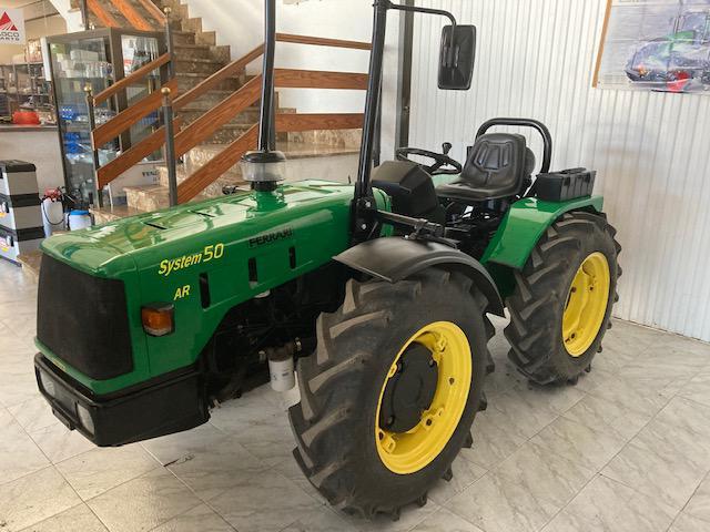 Tractores agrícolas ferrari system 50 ar reversible