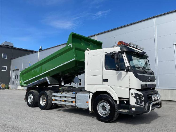 Volvo fmx380 hp automatic dump tip truck mercedes