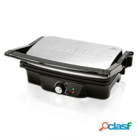 Grill inox flama 4420fl - 1500w - superficie 275*170mm - 4 posiciones