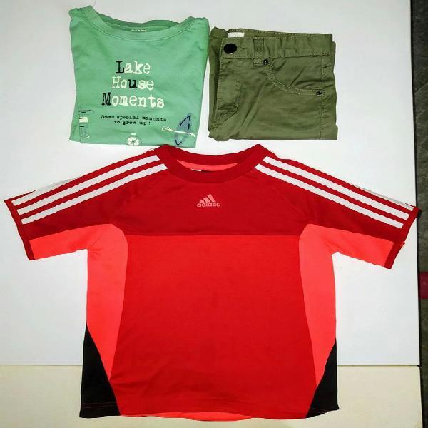 Camiseta y pantalón niño y regalo camiseta