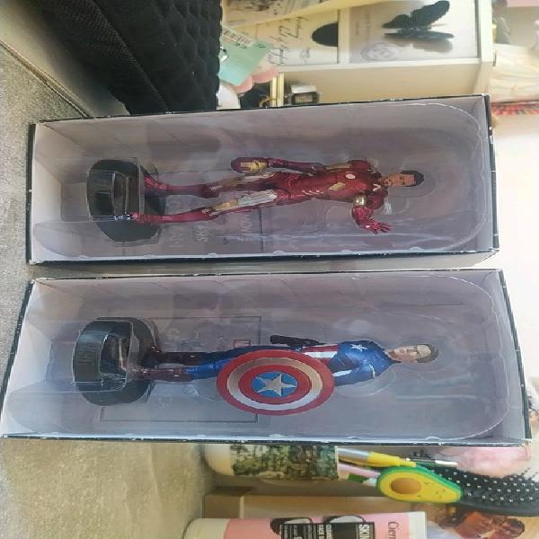 Pack iron man + capitán américa