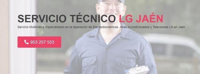 Servicio técnico lg jaén 953274259