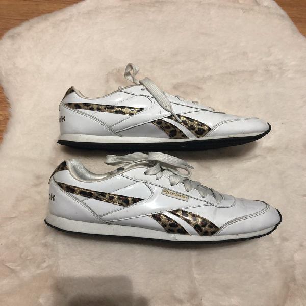 Zapatillas reebok mujer talla 39 blanca echaron con print