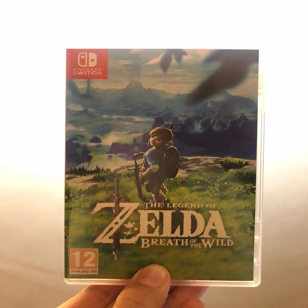 Zelda: breath of the wild |nintendo switch