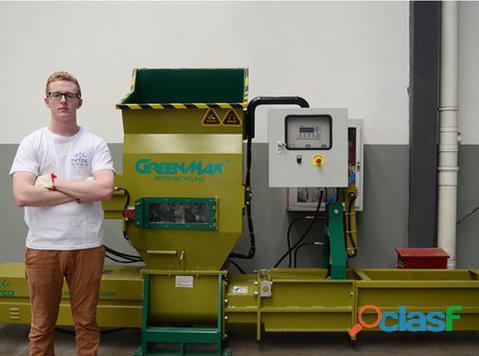 Compactadora de poliestireno GREENMAX APOLO C100