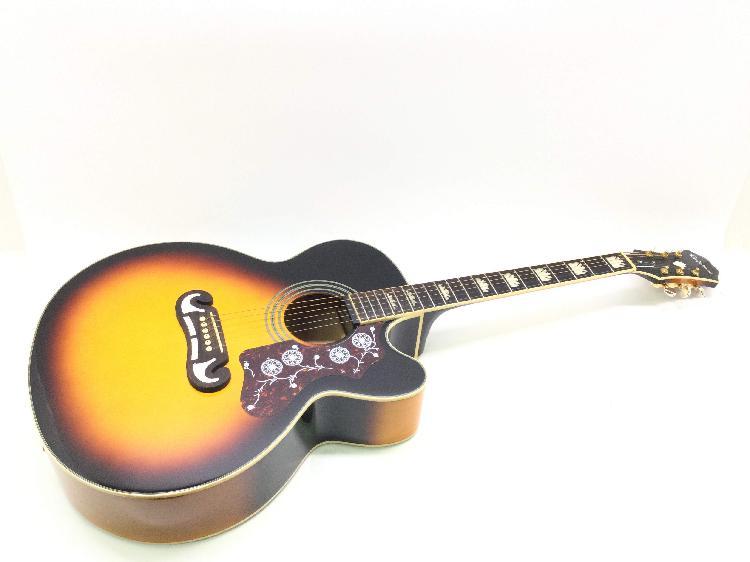 Guitarra acustica epiphone ej200 ce/vs