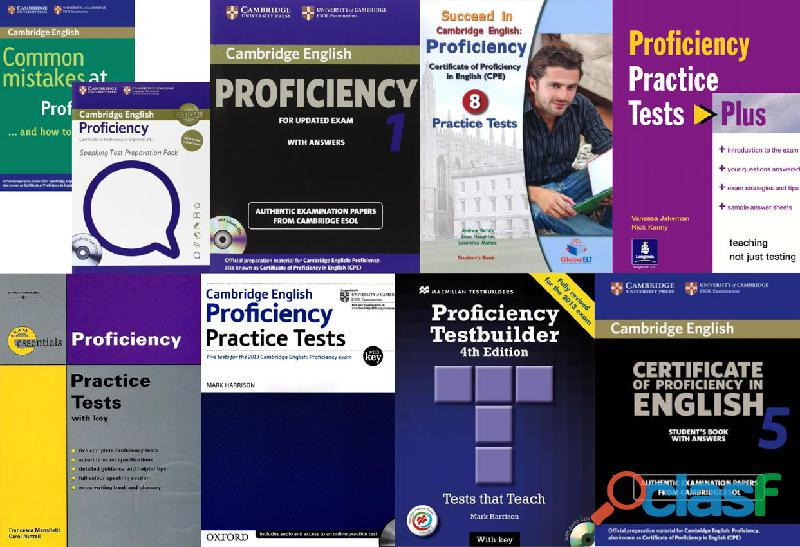 Libros Proficiency Cambridge Examenes C2