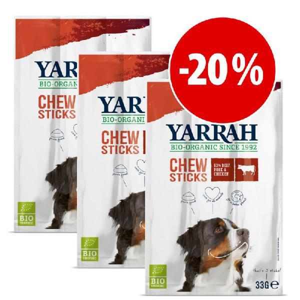 Yarrah palitos ecológicos para perros ¡con descuento!