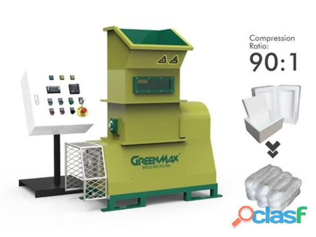 Densificadora de poliestireno GreenMax M C50