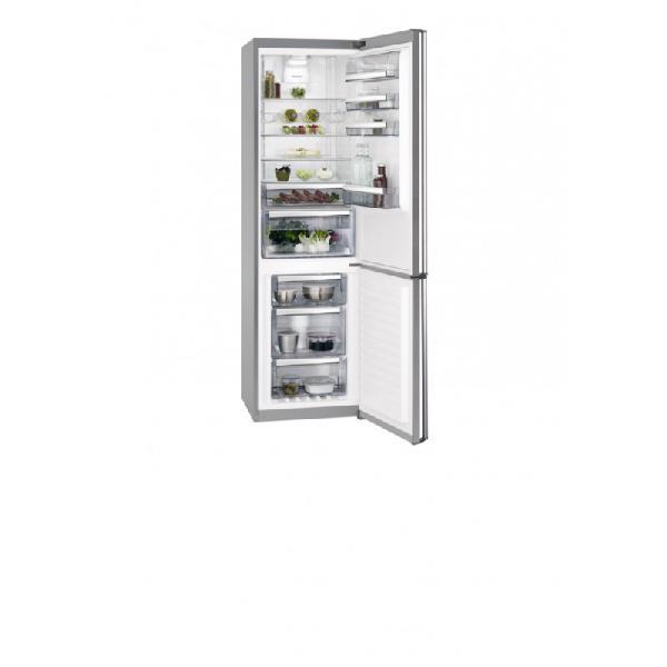 Aeg rcb83726mx frigorífico combi capacidad 341l, a++,