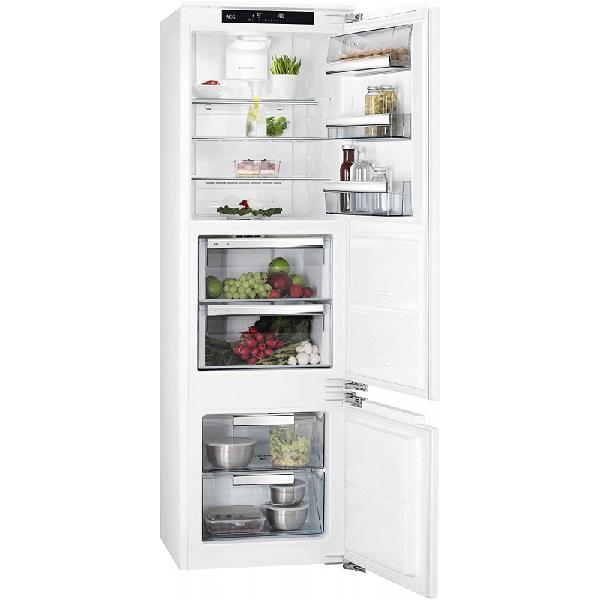 Aeg sce81826zc frigorifico combi blanco capacidad 233 l a++