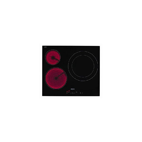 Beko hic63401t placa vitroceramica 3f