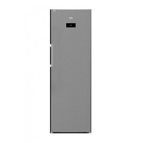 Beko rfne312e43xn congelador vertical color inox, capacidad