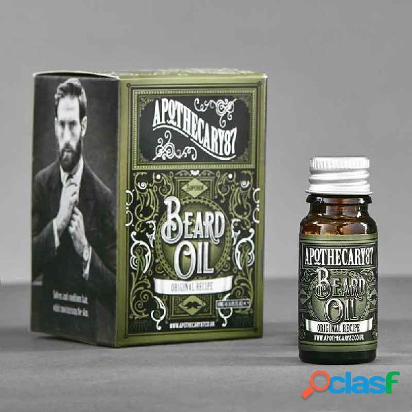 """Aceite para la barba de apothecary87 """"receta original"""" 10 ml."""