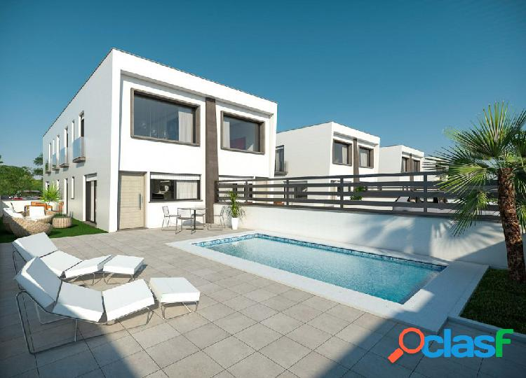 Levante duplex 2-3 dormitorios con gran parcela - gran alacant - duplex of 2-3 bedrooms large plot