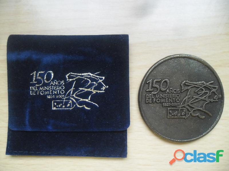 MEDALLA DE LOS 150 AÑOS DEL MINISTERIO DE FOMENTO 2001