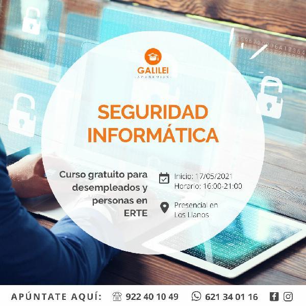 Curso gratuito seguridad informática