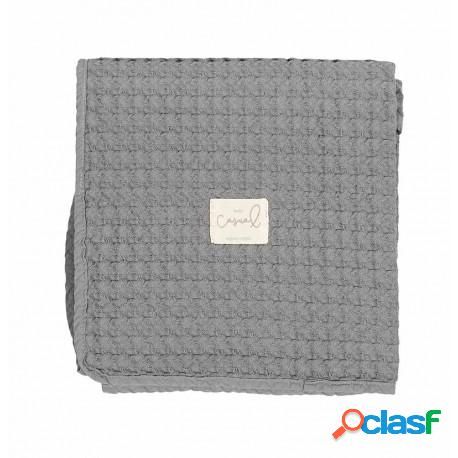 Bimbi dreams - manta crochet 95x75 dream de bimbi dream gris