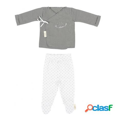 Bimbi dreams - conjunto jubón+polaina dream de bimbi dreams gris