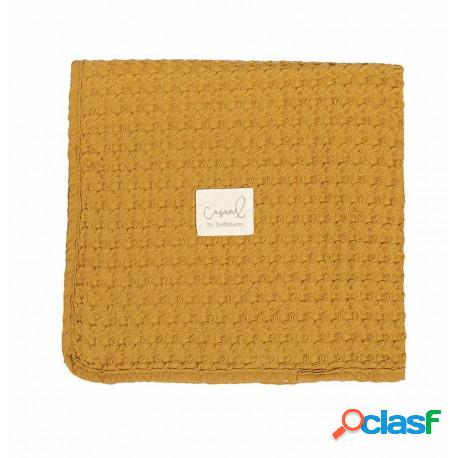 Bimbi dreams - manta crochet 110x145 dream de bimbi dream ocre