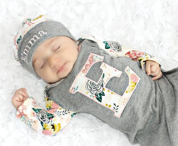 Bebé niña ropa personalizada bebé regalo recién nacido