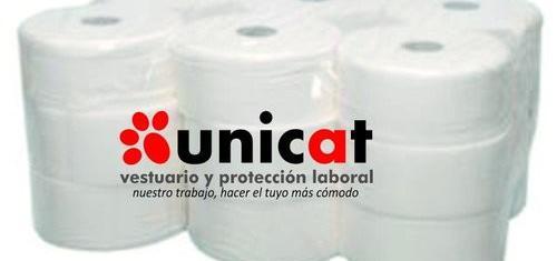 Papel higiénico industrial celulosa reciclada pack 18 uds.