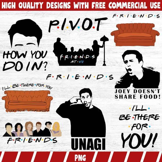 Amigos bundle png, amigos font png, amigos clipart png
