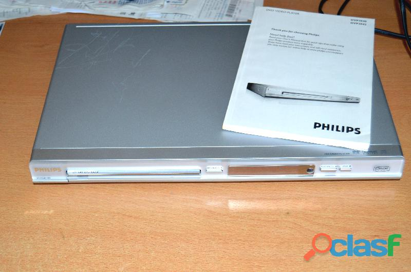 Reproductor de dvds modelo philips dvp 3040