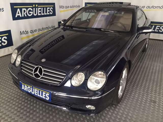 Mercedes cl clase cl 500 306cv aut 1 propietario '02
