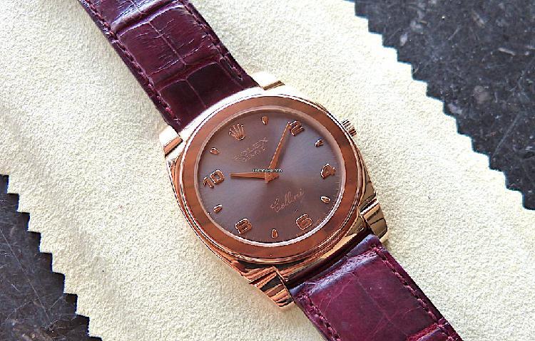 Rolex cellini cestello oro rosa 5330/5