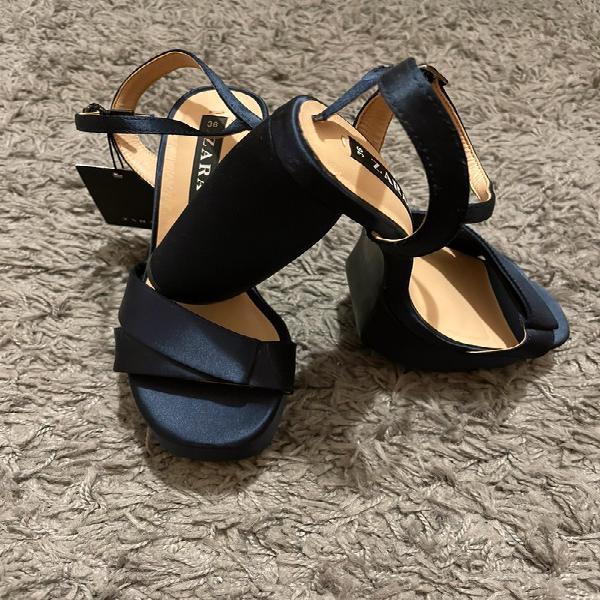 Sandalias azul marino