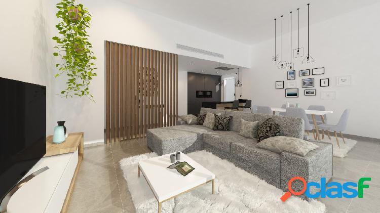 Nueva construcción! villa de diseño en parcela de 520m2, ubicada en zona de la siesta, torrevieja.