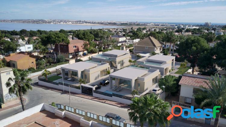 Nuevo proyecto! villas de diseño a 3 km de la playa. en la zona de los balcones, torrevieja.