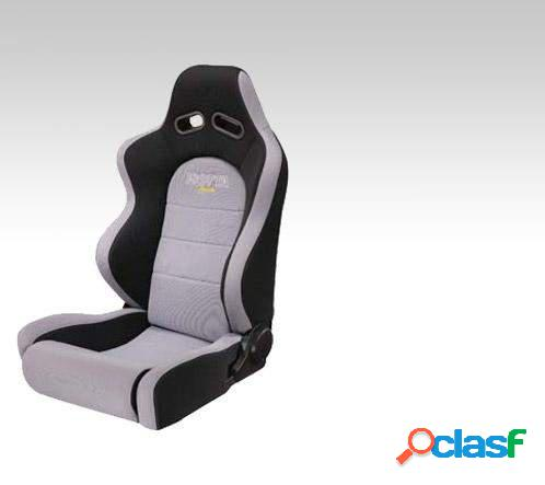 Asiento deportivo (Baquets) Isotta Apache gris