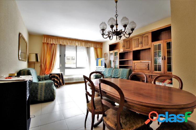¡gran oportunidad! piso con 3 dormitorios, garaje y trastero junto al parque de san martín