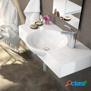 Lavabo cerámica suspendido bemus - art & bath