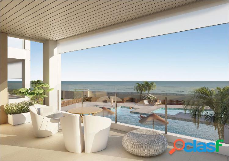 Obra nueva con vistas al mar en mil palmeras
