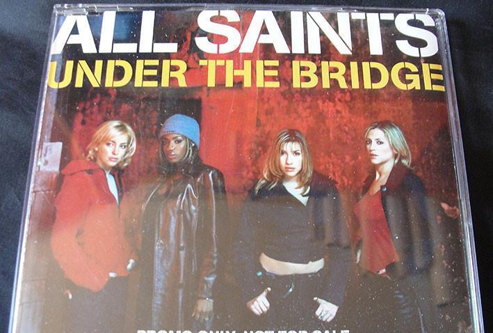 All saints - under the bridge - cd promo - hip hop - nuevo -
