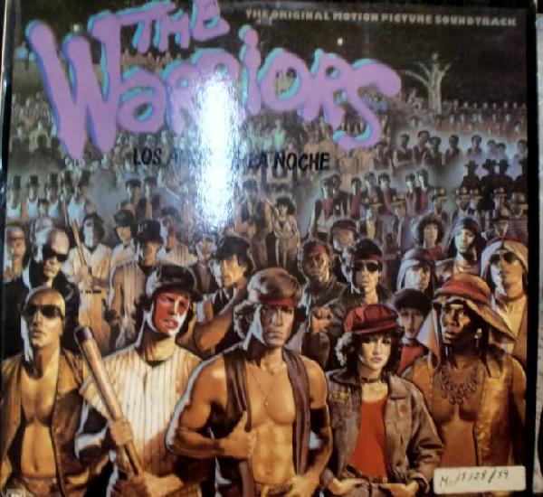 Bso the warriors - los amos de la noche lp spain 1979