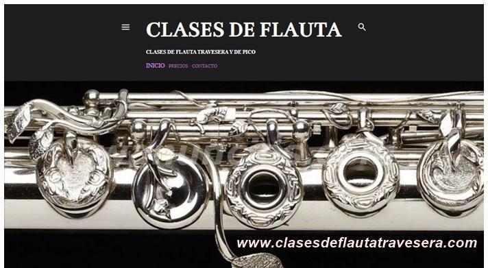 Clases de flauta travesera y fluata de pico (online)