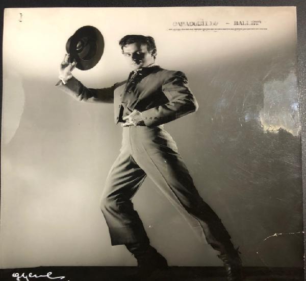 Foto original del bailarín federico casado caracolillo.foto