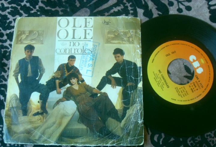 Ole ole single no controles. made in spain 1983